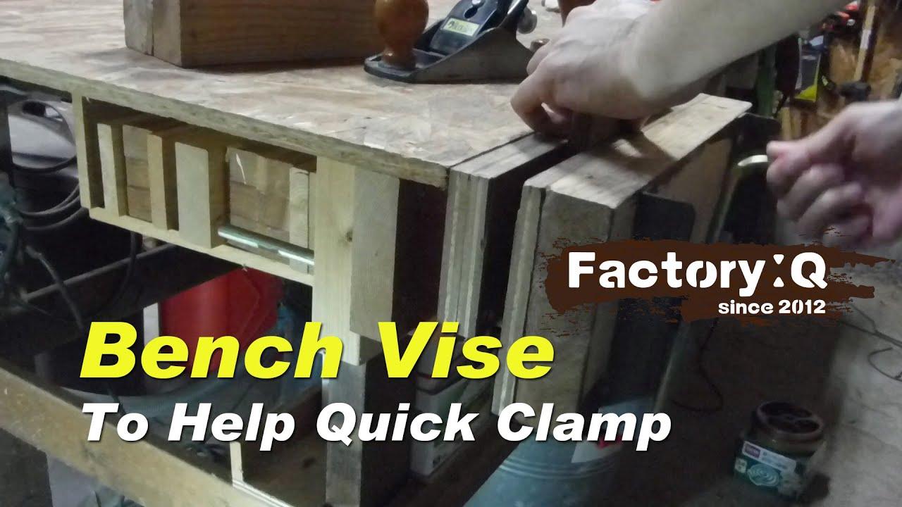 Quick Bench Vise Unique Style. Factory Q