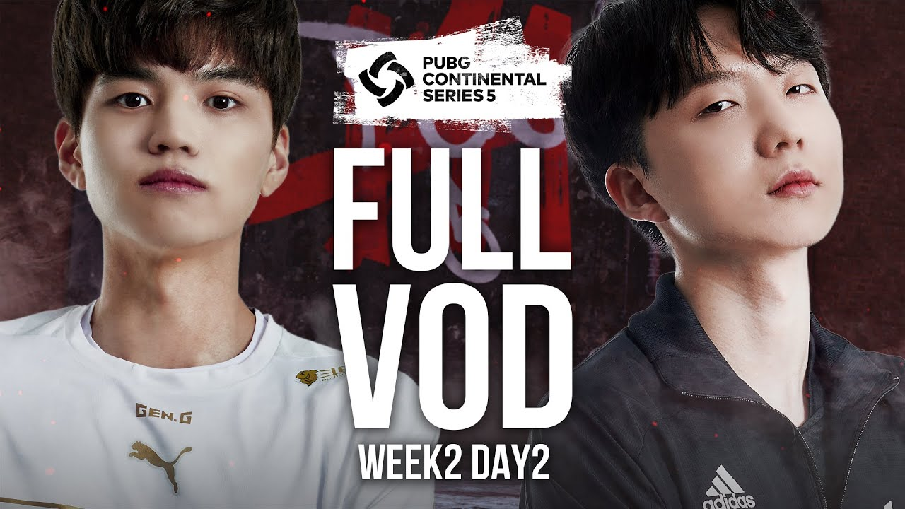 Download PCS5 ASIA WEEK2 DAY2 | 배틀그라운드