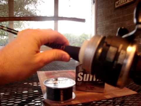 How To Spool A Zebco 33 Fishing Reel