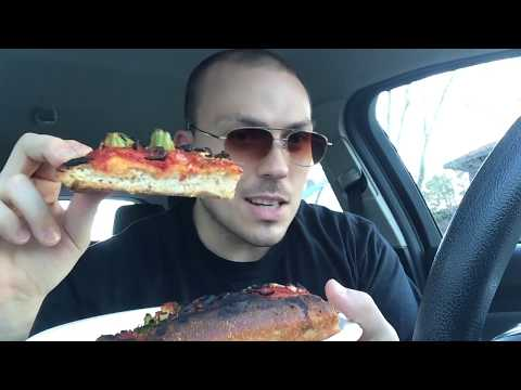 Reheated Vegan Pizza Review (recorded w/no malice toward anybody)