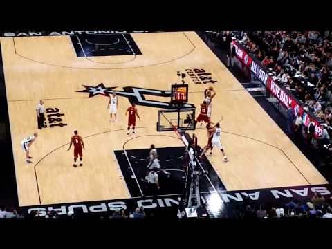 "Spurs vs. Cavs AT&T Center-The ""Spurs Experience"""