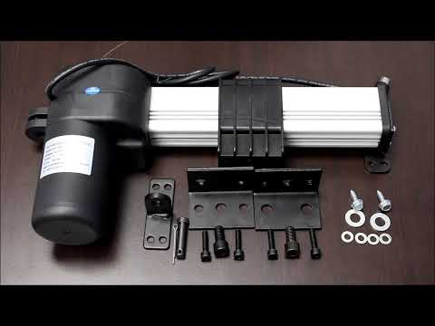 PA-18 Track Linear Actuator Product Overview