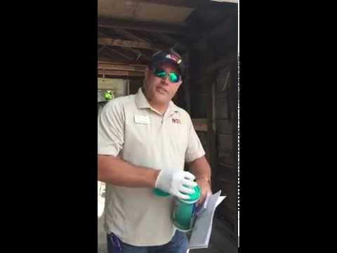 How to properly do a Lead Paint Test - Avery Construction Tampa Fl