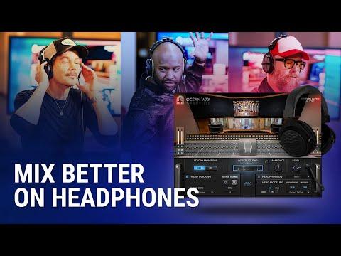 Mix Better on Headphones ? Waves Nx Ocean Way Nashville Plugin