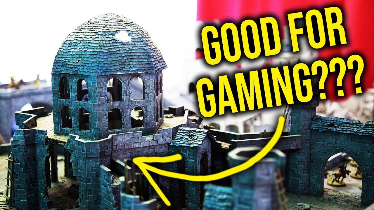 Can STUPIDLY big terrain be playable? THE SEQUEL | Warhammer Scenery |