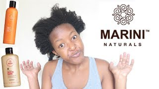 NEW MARINI NATURALS PRODUCT |REVIEW/FIRST IMPRESSIONS|
