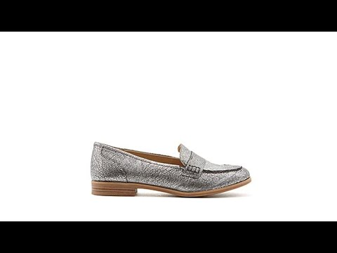 e9324fff149 Naturalizer Veronica Leather Tailored Loafer - YouTube