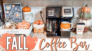 FALL COFFEE BAR // DECORATE WITH ME // FALL DECOR SHOP WITH ME 2019