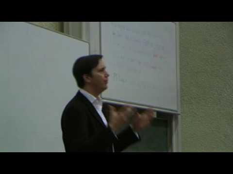 Bentham Lecture 2009 with Richard Reeves