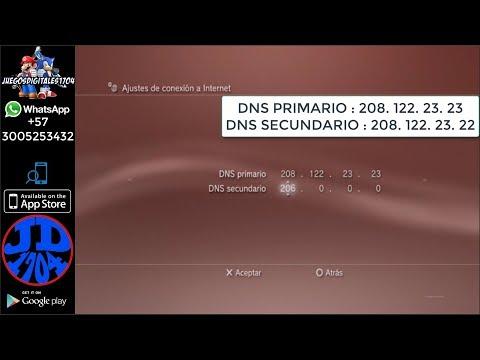 Solucion error de descarga actualizaciones Cambio DNS PS3