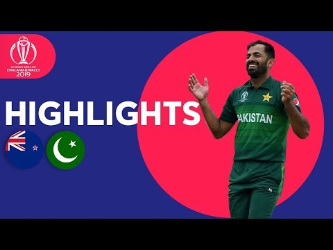 Babar Azam Hits 101* | New Zealand vs Pakistan - Match Highlights | ICC Cricket World Cup 2019