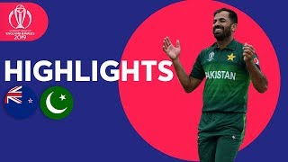 New Zealand vs Pakistan - Match Highlights | ICC Cricket World Cup 2019
