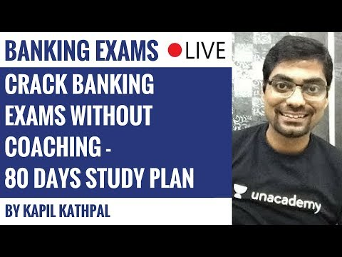 Crack Banking Exams Without Coaching - 80 Days Study Plan by Kapil Kathpal
