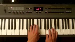 WALKING IN MEMPHIS Piano tutorial
