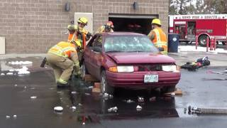 Extrication - Vehicle Glass and Roof Flap