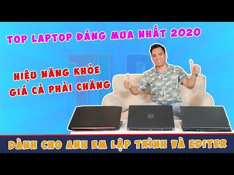 Top Laptop Đồ Hoạ Lập Trình Dựng Video 4K Đáng Mua Nhất 2020