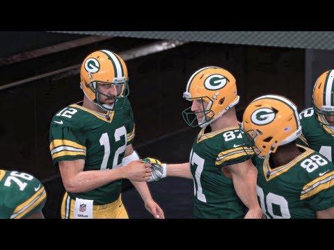 Madden NFL 18 | Thursday Night Football Green Bay Packers vs Chicago Bears