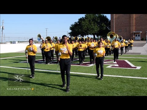 Edna Karr High School Marching In @ the 2019 Crank It Up Fest