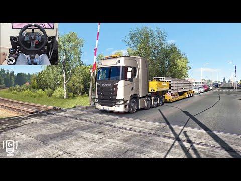 Scania S730 - A Russian Job | Euro Truck Simulator 2 | Logitech G29 Gameplay