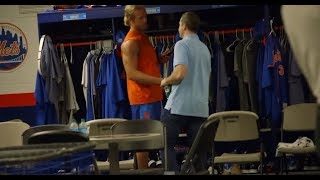 Go behind the scenes for a day in the life at Mets spring training!