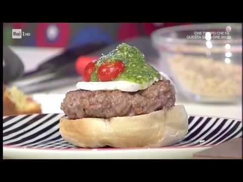 Youtube Ricetta Hamburger.Le Ricette Di Benedetta Parodi Hamburger All Italiana Domenica In Youtube
