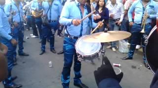 Banda reyna de huajuapan, carnaval 2015 sta maria