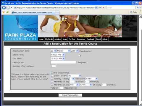 Condo Association Website / Condo Websites by AtHomeNet