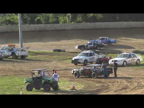Florence Speedway | 7/15/17 | Phoenix Comfort Systems Pure Stocks | Heats