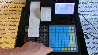 Stock Control Report On Casio SR-C550 Cash Register
