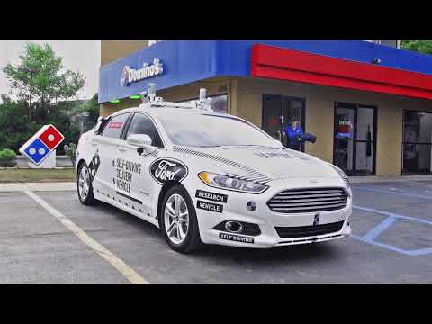 Ford and Dominos Consumer Research of Pizza Delivery Using Self Driving Vehicles