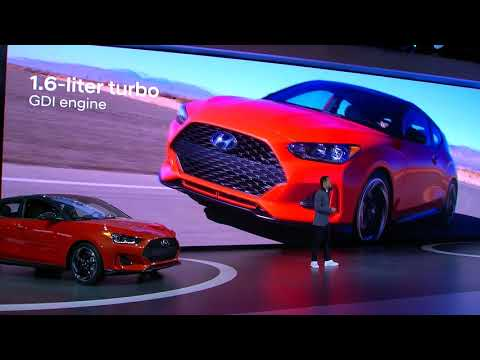 The all new Veloster Veloster N Detroit Auto Show Reveal Full Replay