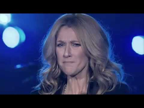 Celine Dion is crying singing My Love  !