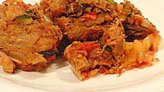 Чашушули из Говяжего Мяса кулинарный видео рецепт