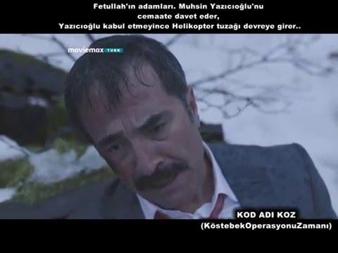 KOD ADI KOZ FİLMİNDE MUHSİN...