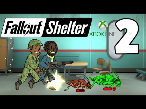 Overseers Office First Quest! - Fallout Shelter Xbox One Gameplay - Part 2