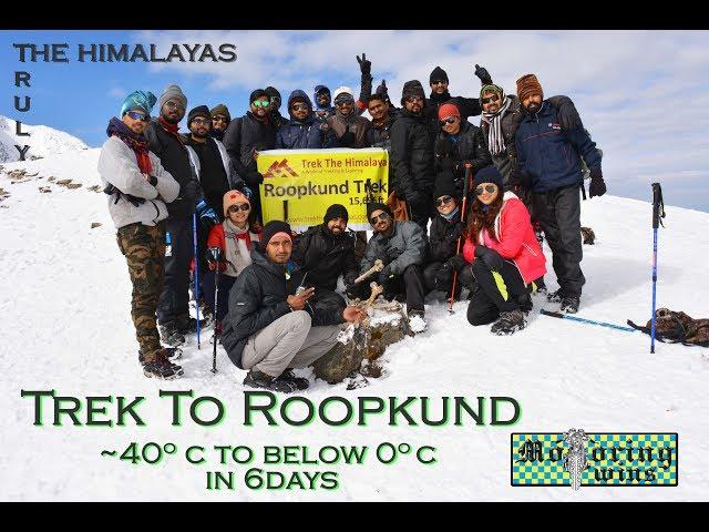 Gopro | Himalayas | Roopkund Trek | 6days | 0 degrees