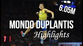 Mondo Duplantis 6.05m Pole Vault Highlights ᴴᴰ