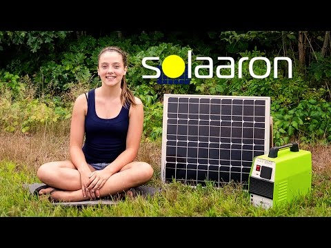 SOLAARON OUTBACK MATE 500 – Solar Powered Generator Commercial