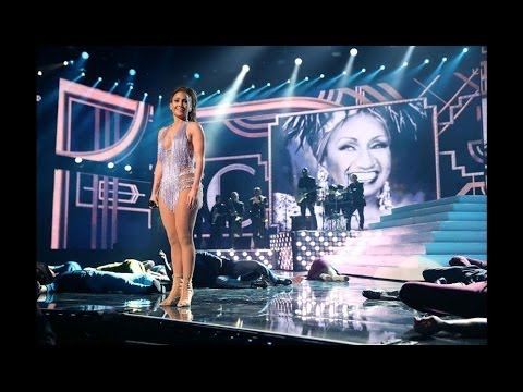 Jennifer Lopez – Homenaje a Celia Cruz- American Music Awards 2013