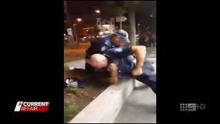ACA + Seven + Nine News. Police Brutality In The Spotlight.(Australia)