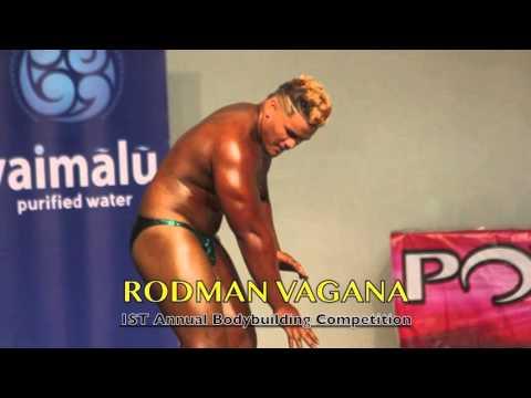 Sau Ia Bodybuilding Inc. of American Samoa –Rodman Vagana