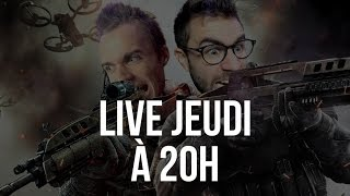 RDV JEUDI 20H POUR NOTRE LIVE CALL OF DUTY BO3 !