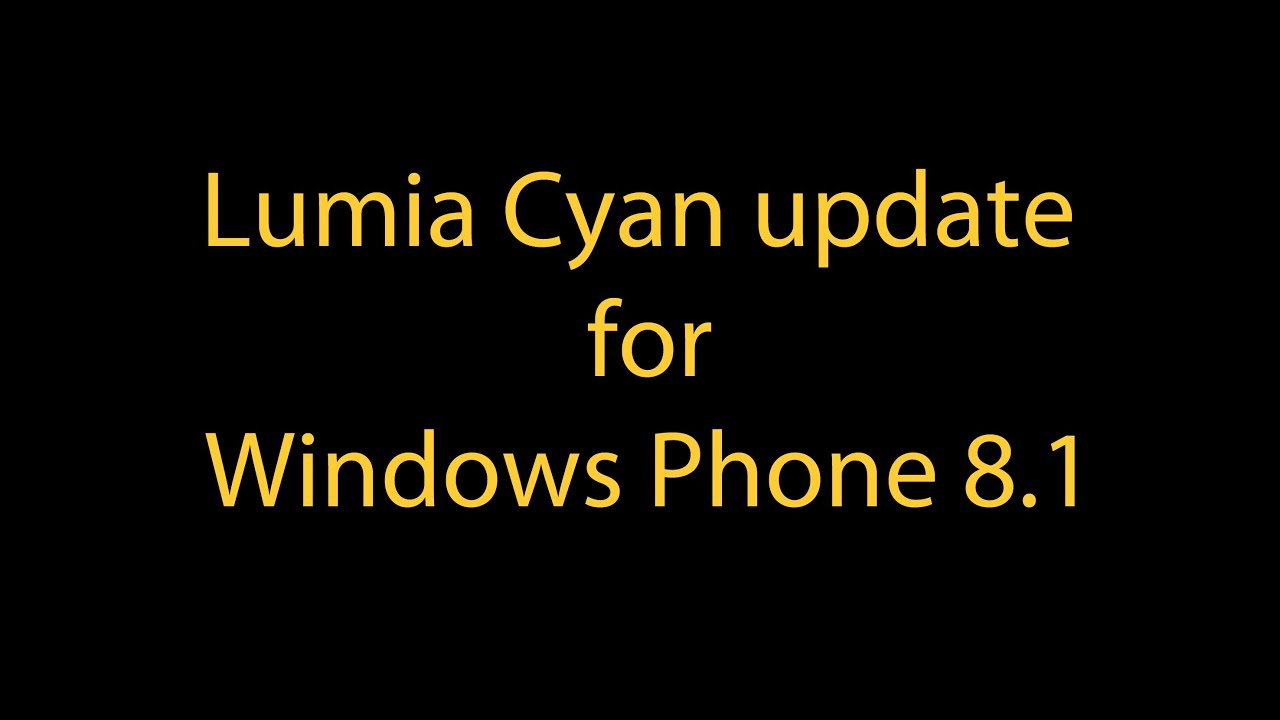 Lumia 521 denim update - Review Features Of Lumia Cyan Update For Windows Phone 8 1