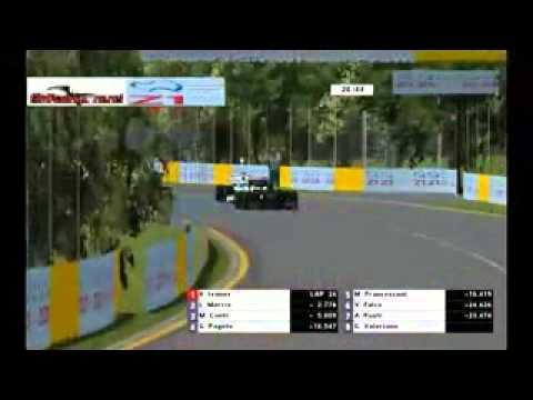 rFactor F1 2013 Sim Racing Zone RF1 Australian Grand Prix Full Race Broadcast