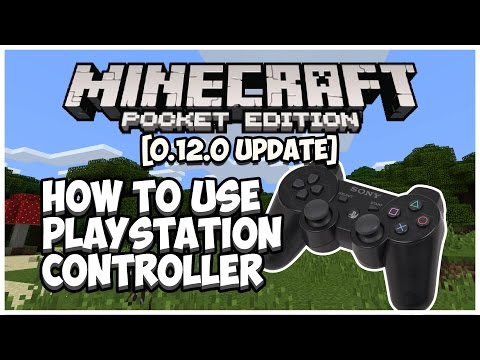 MCPE [0.12.0] HOW TO USE PLAYSTATION CONTROLLER - TUTORIAL