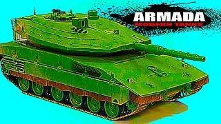 ARMADA WORLD OF MODERN TANKS Merkava Мульт танки Онлайн игра Боевые машинки.Бои танков Видео #38