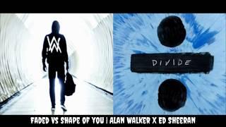 Faded // Shape Of You (Remake Mashup) Alan Walker x Ed Sheeran