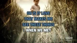 Walking Piece Of Heaven in the style of Marty Robbins | Karaoke with Lyrics