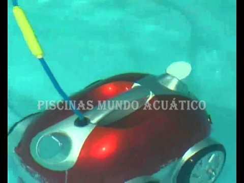 Limpiafondos automatico piscina naia en piscinas mundo for Limpiafondos automatico piscina