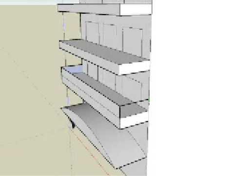 Mueble para discus con google sketchup (tutorial) | FunnyDog.TV